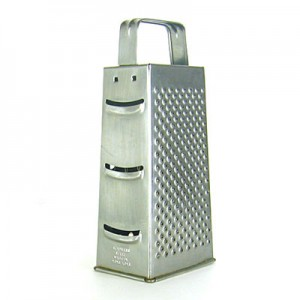 My Italian kitchen has a sturdy flat cheese grater