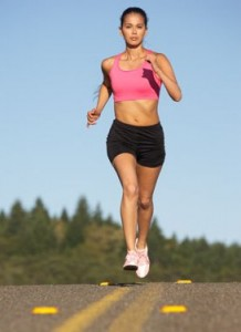 A spring fitness tip is to buy new workout and running clothing