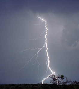 Lightning is one of the top ten cool photographs of weather