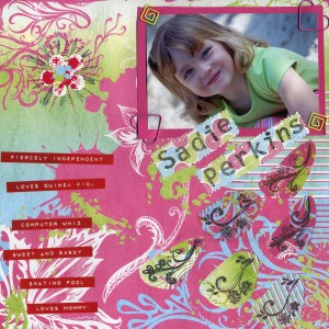 Scrapbooking supplies are a great mother's day gift for grandma