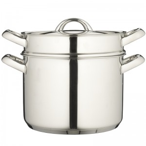You can't even get started without a large Italian pasta pot