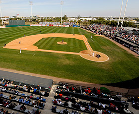 Spring training is a great spring road trip destination