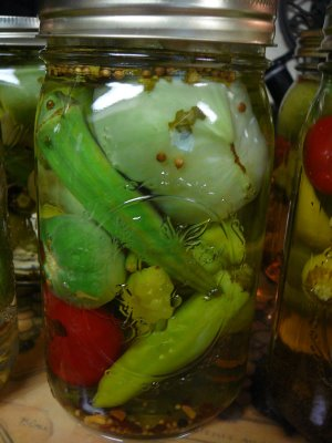Get creative with the pickled vegetables in your Bloody Mary ingredients