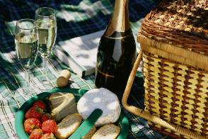 A list of the top ten easy spring picnic ideas