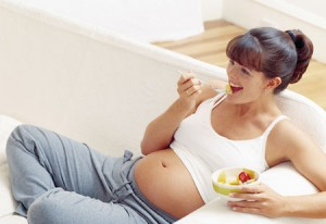 Pregnant women are more noticable in the Spring