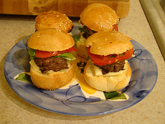 Sliders are in the top ten easy hors d'oeuvres