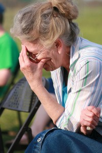 Keep stress low is a great tip for staying young.
