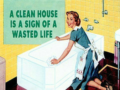 One of the top ten tips for keeping your house clean
