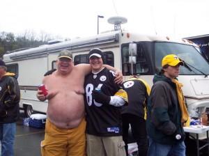One of the top ten things sports fans wear