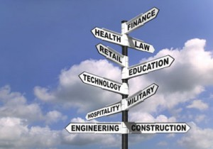 A list of the top ten tips for choosing a career