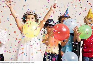 A list of the top ten birthday party games