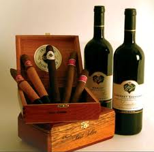 Cigars and wine are in the top ten things to pack for a beach vacation