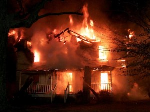 Fire is one of the top ten dangers in your home