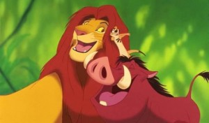 The Lion King is one of the top ten animated movies