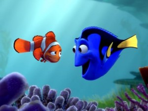 Finding Nemo is one of the top ten animated movies