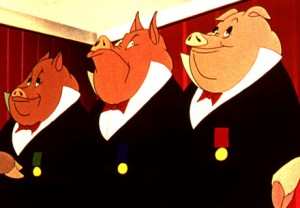 Animal Farm is one of the top ten animated movies