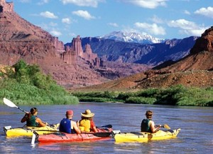 Boating is one of the top ten ways to get in touch with nature