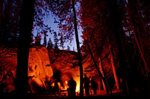 Camping is one of the top ten ways to get in touch with nature