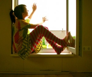 Falling out of a window is one of the top ten dangers in your home