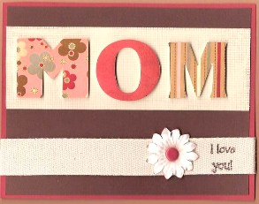 One of the top ten handmade Mother's Day gifts