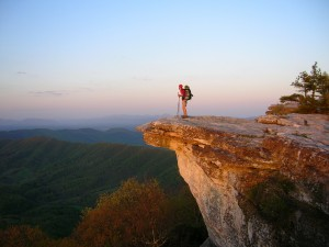 Hiking is one of the top ten ways to get in touch with nature