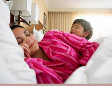 Comfy pajamas are one of the top ten mother's day clothing gifts
