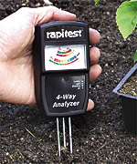 Soil analyzer is one of the top ten gifts for expert gardeners