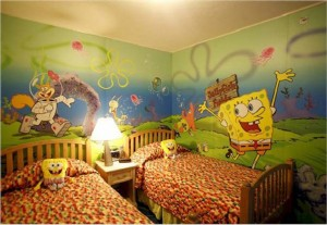 One of the top ten character theme kids rooms