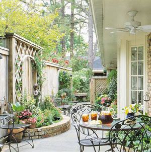 One of the top ten outdoor patio design ideas