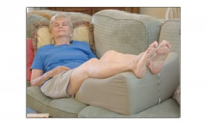One thing on the list of the top ten ways to improve leg health
