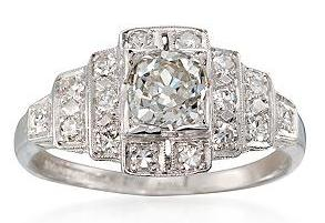 diamond estate jewelry