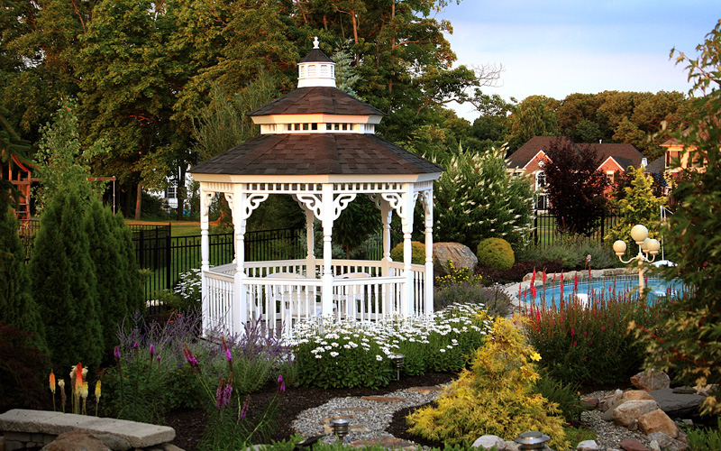 Amish country gazebo