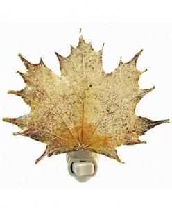 maple leaf nightlight