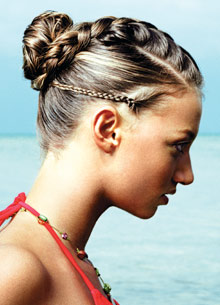 One of the top ten ways to wear your hair this summer