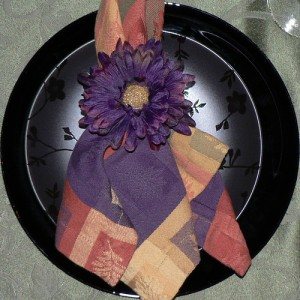 One of the top ten ways of folding napkins