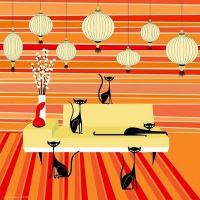 One of the top ten hip retro decorating ideas
