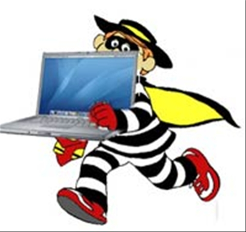 A list of the top ten ways to prevent laptop theft