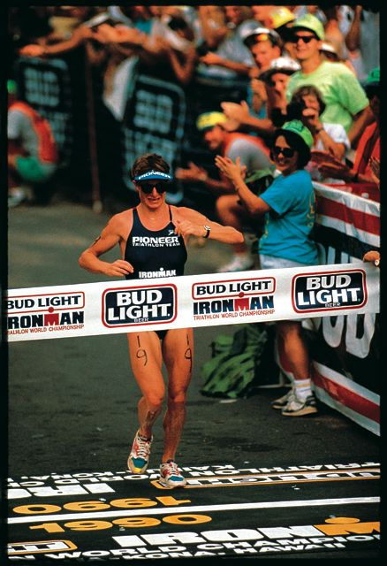 One of the top ten ironman triathletes