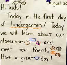 A list of the top ten kindergarten transition tips