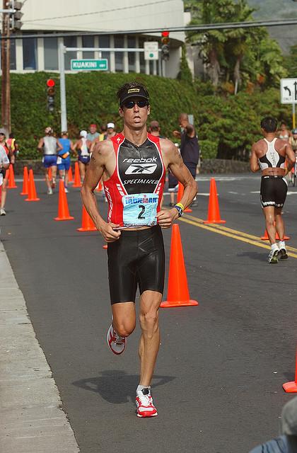 One of the top ten ironman triathletes