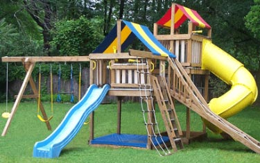 home playground sets to build