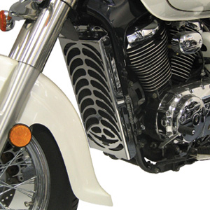 One of the top ten motorcycle chrome parts