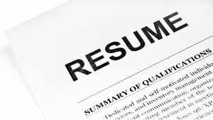One of the top ten common resume mistakes