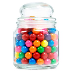 A list of the top ten decades in candy