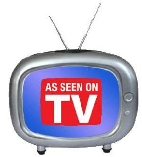 A list of the top ten As Seen on Tv products