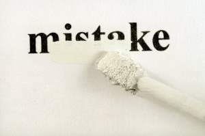 catalog marketing mistakes word mistake being erased