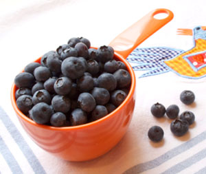 basic cooking skills cup of blueberries