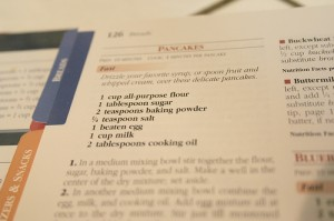 basic cooking skills printed recipe