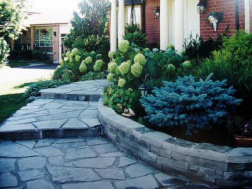 One of the top ten dramatic curb appeal ideas