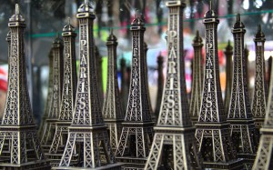 Eiffle Tower ornaments